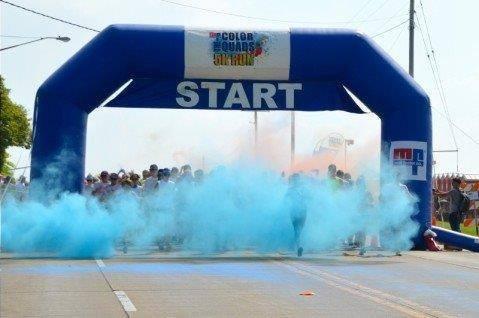 PurColour Color Blaster Blue | Celebration Powder, color powder, holi