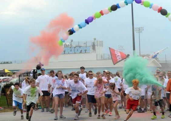 Multi-Color PurColour Blasters Race Finish | Celebration Powder, color powder, holi