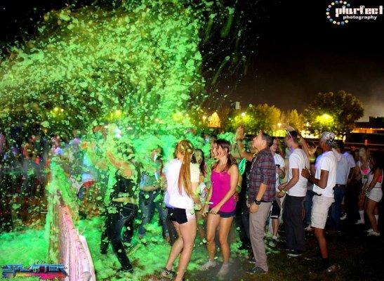 PurColour | PurColour Neon/AfterDark Green Foam Shower