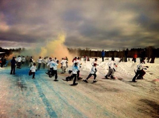Arctic Blast 2014  Snow Show Race | PurColour Celebration Powder | Color Powder, Holi Powder