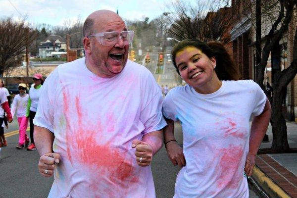 Cameron Fitzgerald Memorial 2015 Color Run  | PurColour Celebration Powder, color power, holi