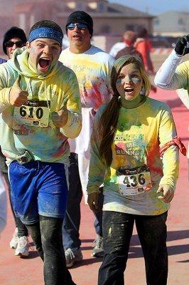 Christ Academy ColorMe Run| PurColour Celebration Powder, color power, holi