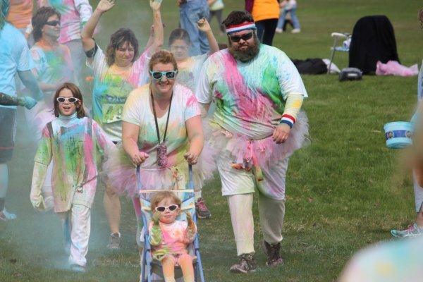 Manitowoc Public School 2013 Color Run  | PurColour Celebration Powder | Color Powder, Holi Powder