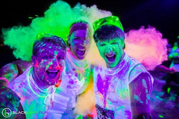 Black Light Run D.C. 2015 | PurColour AfterDark Powder | Glow Powder, Holi Powder
