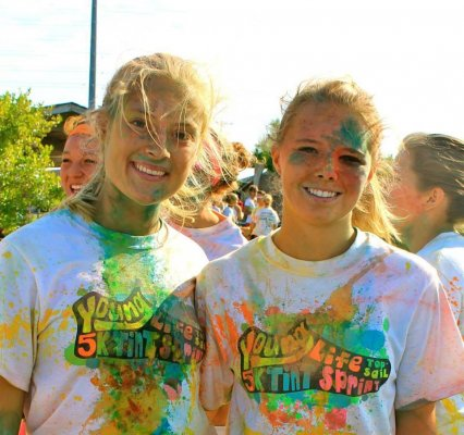 Topsail Young Life Tint Sprint 2013 | Local Charities PurColour customer color powder, celebration powder.