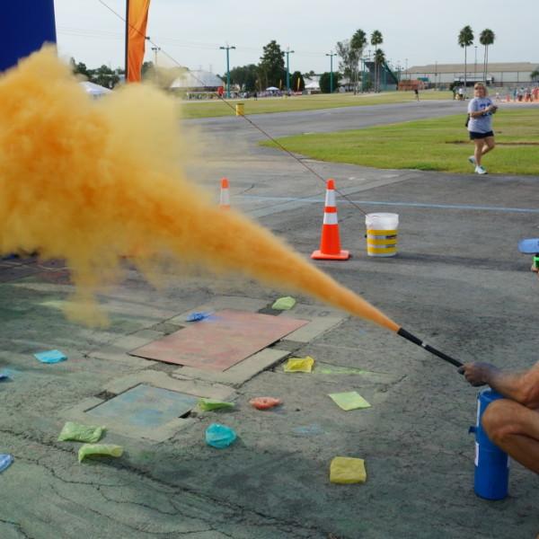 Color Powder Blaster Demo