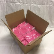 Color Powder Stanard Pink Bags