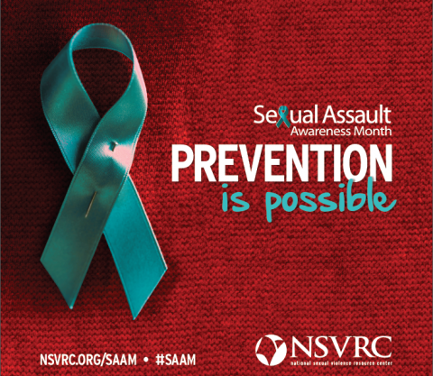 Sexual Assault Prevention PurColour - Teal Color Sexual Assault Awareness Ribbon