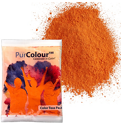 orange color powder at party city - Color Packets