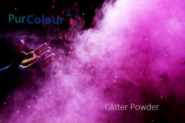 PurColour Purple Glitter Powder for color run