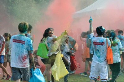 PurColour Standard Color Powder at ColorMeRun 2105