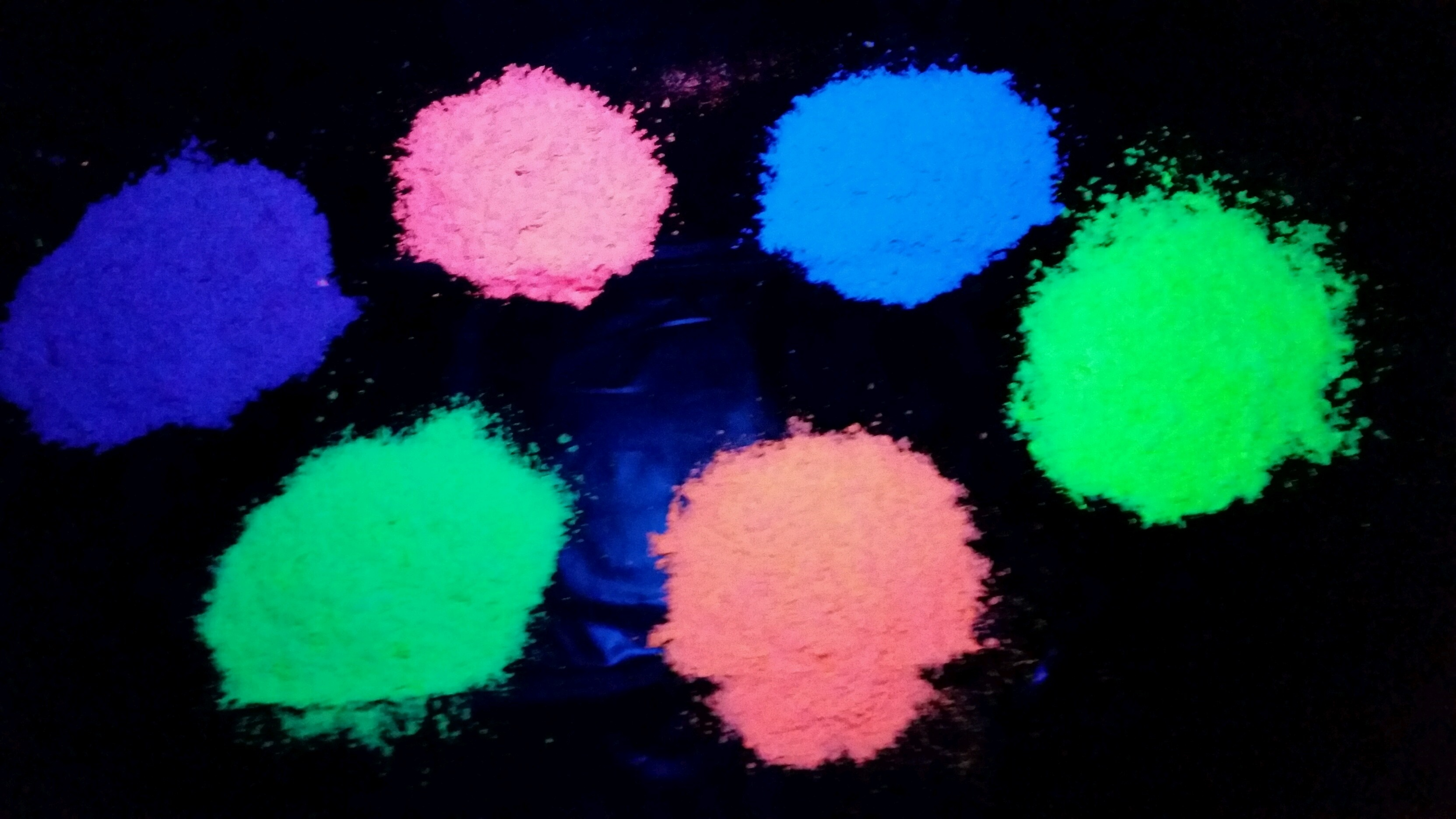 PurColour PurFetti AfterDark glow in the dark biodegradable confetti