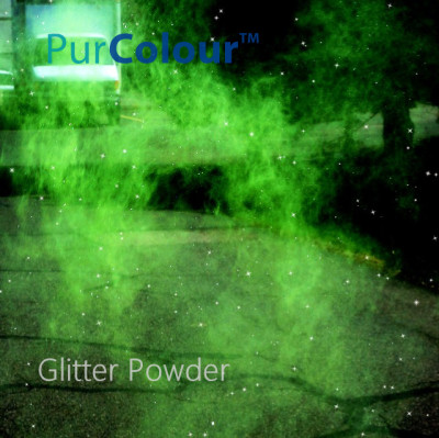 PurColour Green Glitter Color Powder