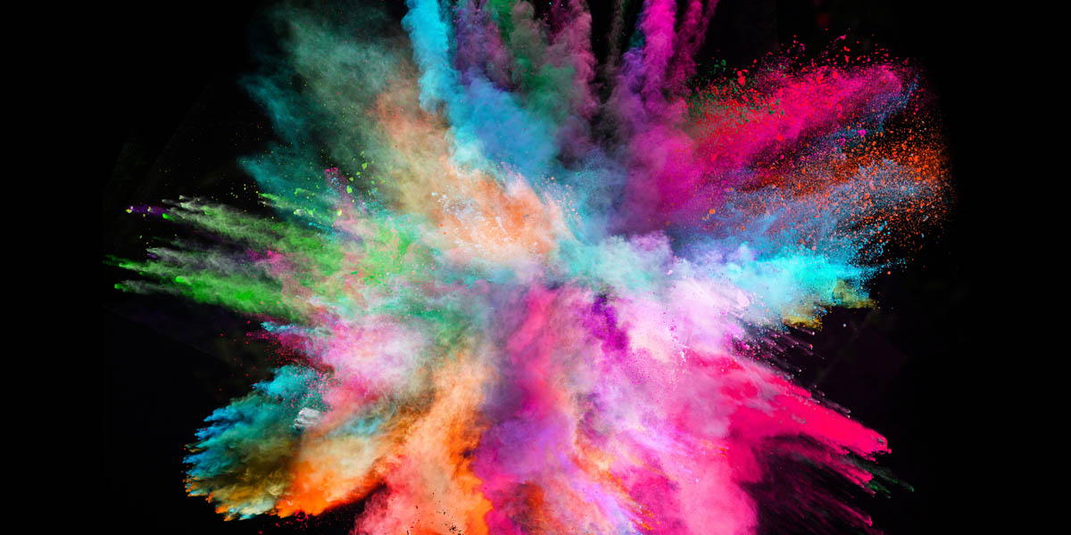 Purcolour color powder, colored powder, holi powder, glitter powder, glow powder, uv powder