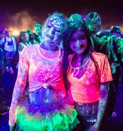 PurColour Color Powder - AfterDark GLow in the dark