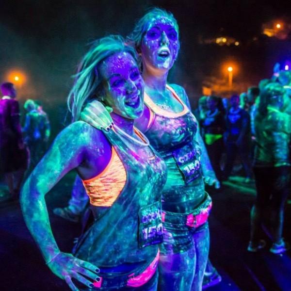 PurColour Color Powder After Dark GLow in the dark