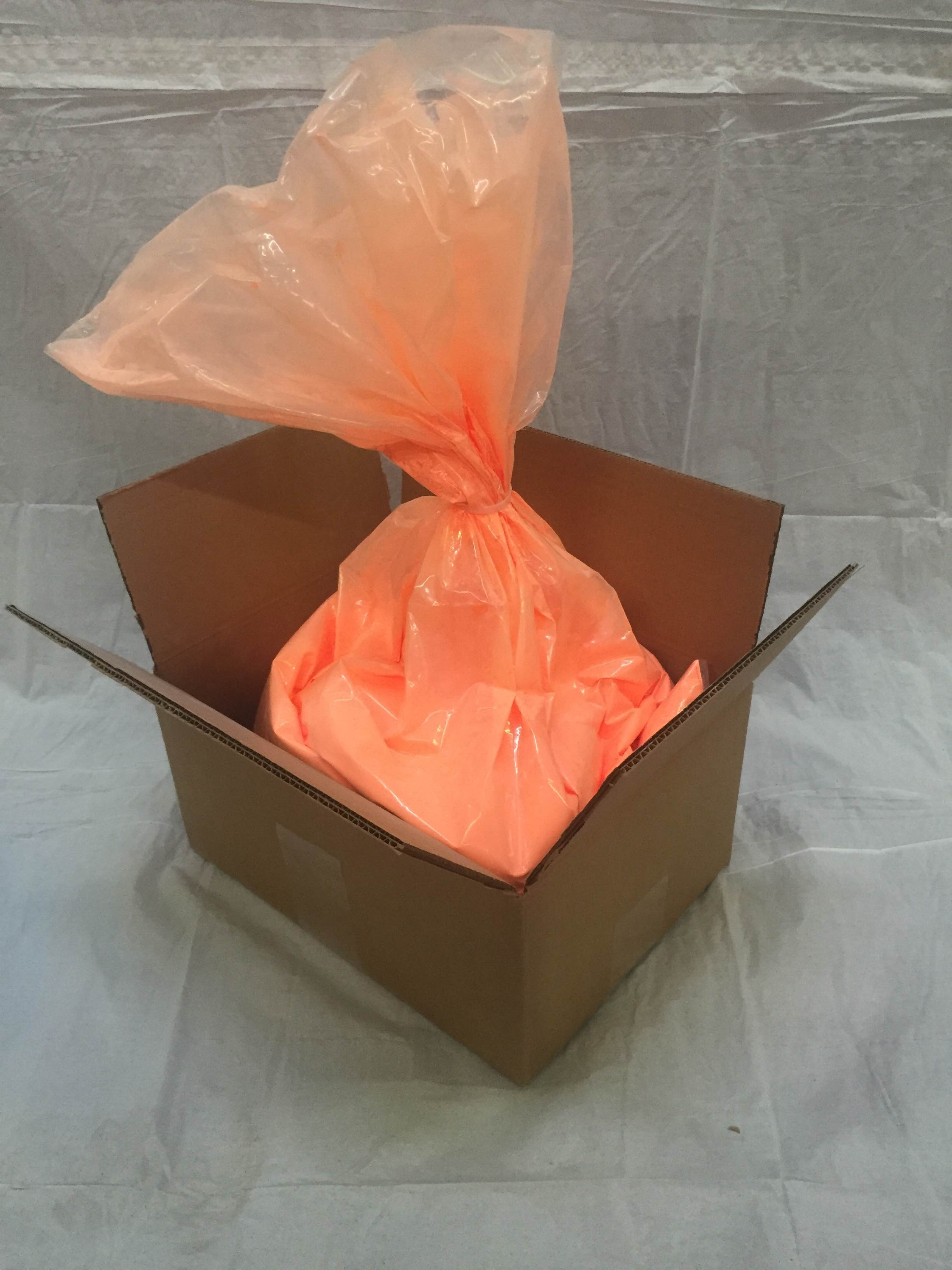 PurColour Color Powder Neon/AfterDark Orange Bulk