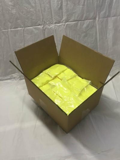 PurColour Color Powder Neon/Afterdark Yellow Bags