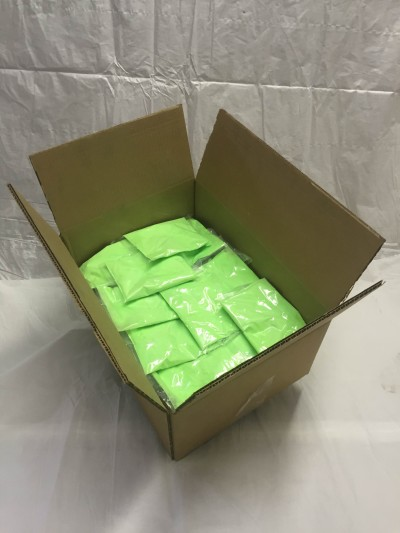 PurColour Color Powder Neon/Afterdark Green Bags