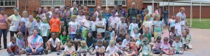 Color run and Chireno School